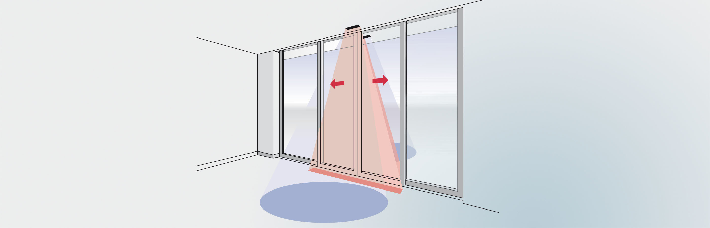 PrimeTec activates and secures a sliding door