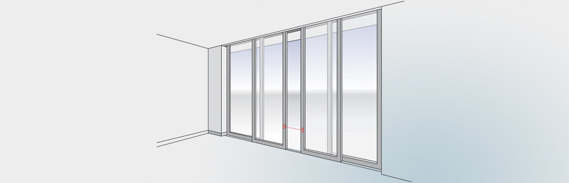 LBDoor - To protect the primary closing edge on sliding doors